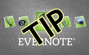 Evernote Tip logo