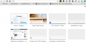 Image of most visited page.