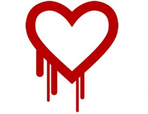 A logo with a graphical bleeding heart