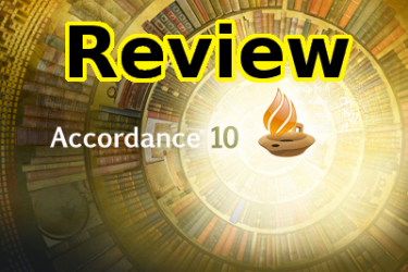 Accordance 10 Bible Study Software Review